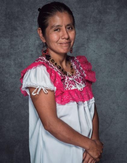 """Ipólita Pérez. // Foto tomada del libro """"Primer Encuentro Nacional de Cocineras Tradicionales""""."""