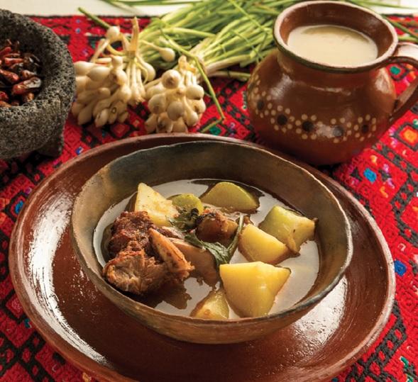 """Zihuamonte. // Foto tomada del libro """"Primer Encuentro Nacional de Cocineras Tradicionales""""."""