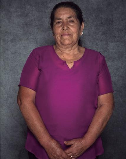 """Obdulia Mata Jasso. // Foto tomada del libro """"Primer Encuentro Nacional de Cocineras Tradicionales""""."""