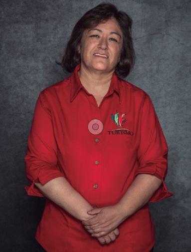 """María del Carmen Orreante. // Foto tomada del libro """"Primer Encuentro Nacional de Cocineras Tradicionales""""."""