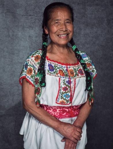 """Herlinda Olivos. // Foto tomada del libro """"Primer Encuentro Nacional de Cocineras Tradicionales""""."""