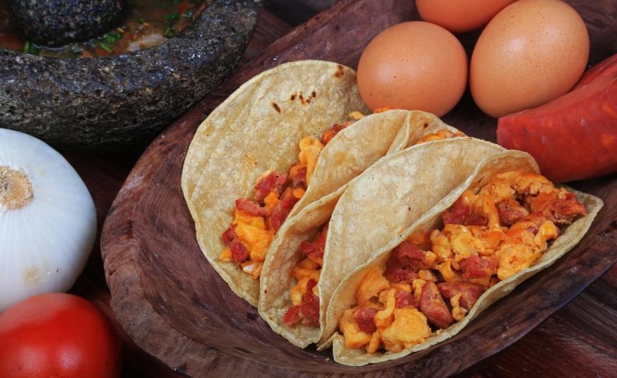 Resultado de imagen para huevo con chorizo platillo