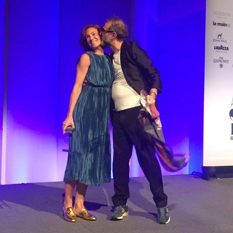 Massimo Bottura y Lara Gilmore