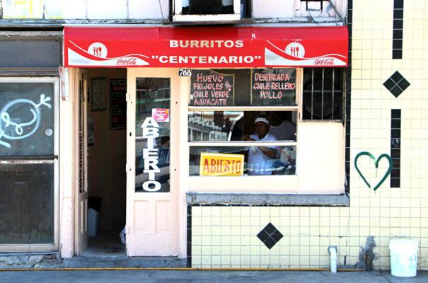 burritos centenario