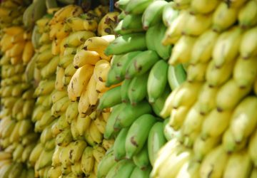 receta volteado de plátano