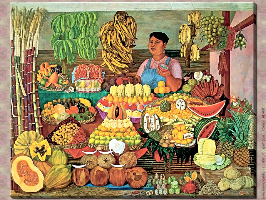 """La vendedora de frutas"""", una oda a las frutas mexicanas"""