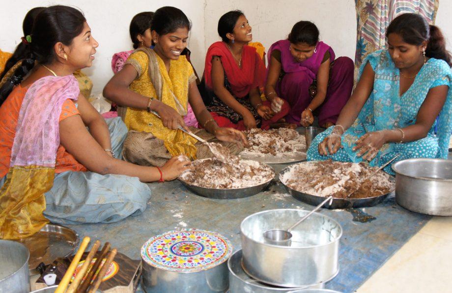En India los dedos son muy importantes a la hora de comer. // Foto: Wikimedia Commons.