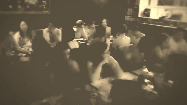 Cena al desnudo en Naked Lunch.//Foto: Lina Ortíz.