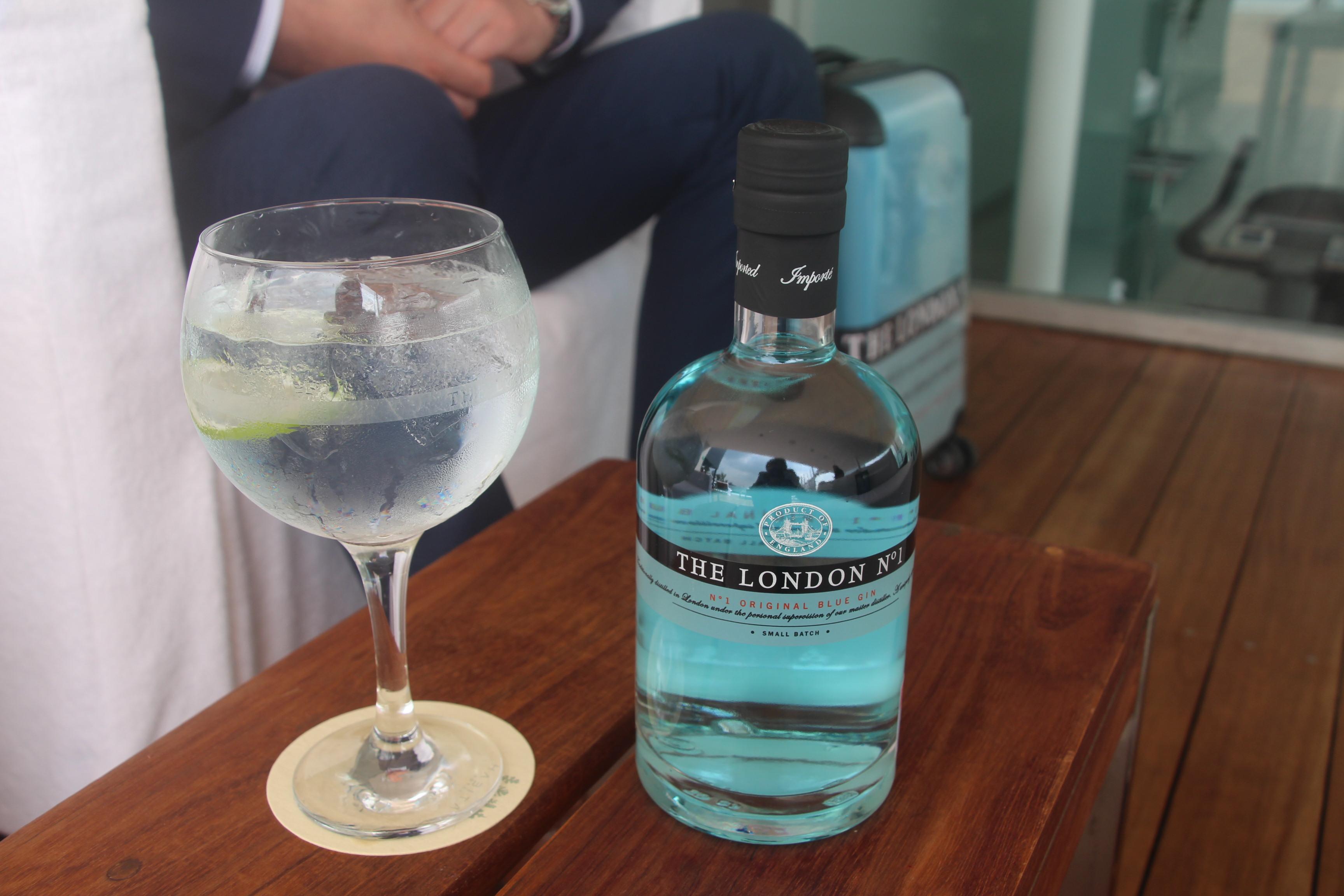 Gin Tonic con London No. 1. //Foto: Roxana Zepeda.