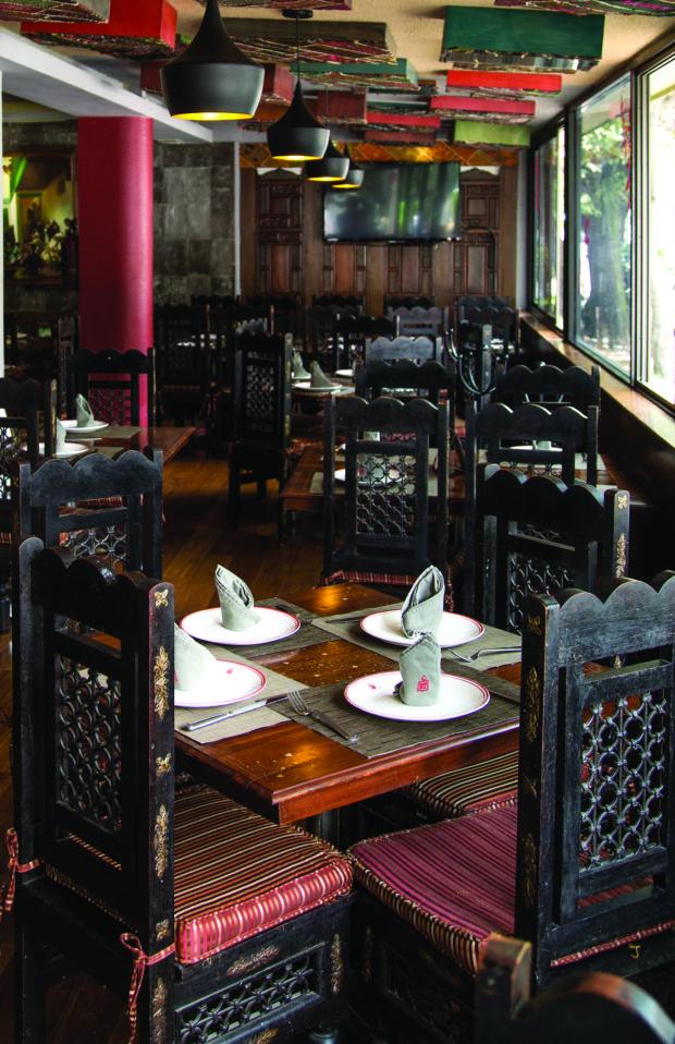 Restaurante Tandoor.//Foto: Tandoor.