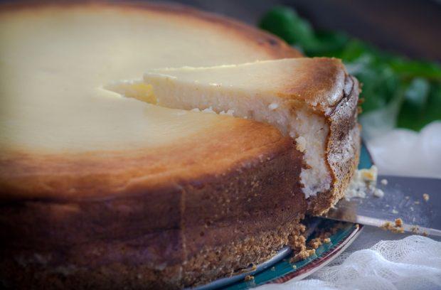 Pastel de queso.//Foto: Wikimedia Commons.
