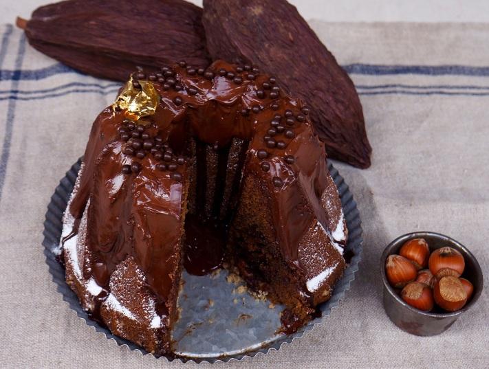 Rosca de café y chocolate de la chef Vanessa Musi.