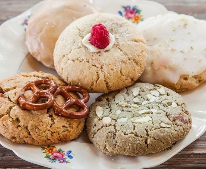 Chomp Chomp tiene las galletas más originales de la Roma.