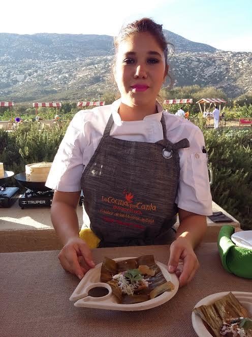 Nancy León, chef de Chan's Bistro. // Foto: Nadia Luna.