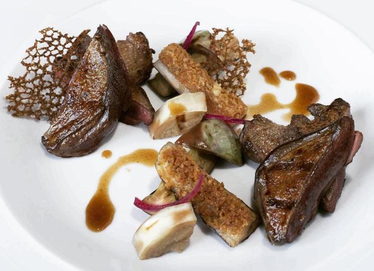 Plato de Guy Savoy, el mejor restaurante del mundo según La Liste