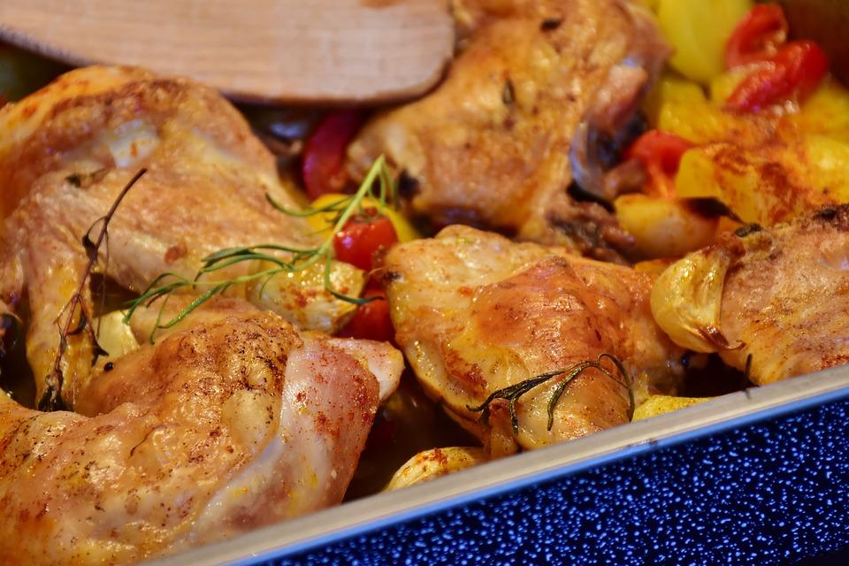 Como hacer muslos de pollo al horno para dieta