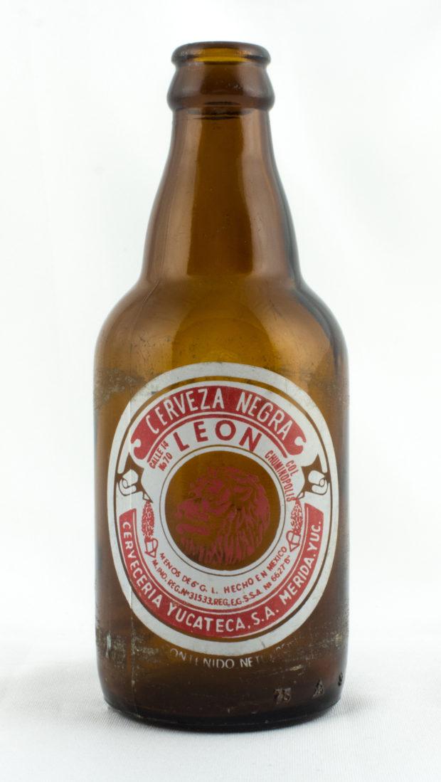 Cerveza León del año 1950.