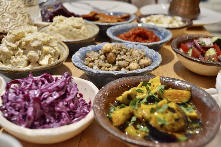 El salatim de Merkavá está disponible en 7 y 14 opciones.