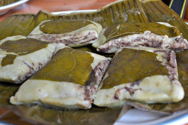 tamal capas frijol - Animal Gourmet