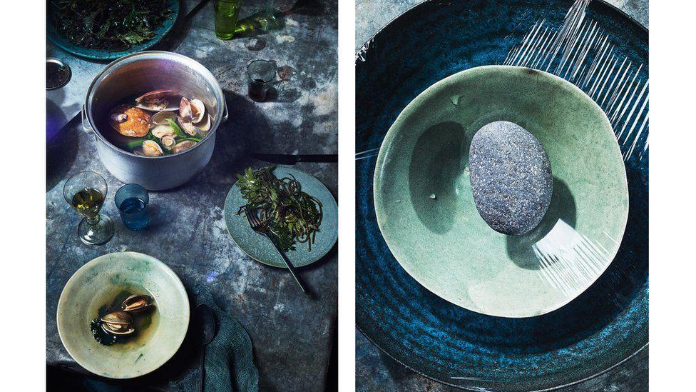 Foto: Heami Lee. Estilista de alimentos: C.C. Buckley. Estilista de objetos: Rebecca Bartoshesky. Dirección de arte: Allie Wist.