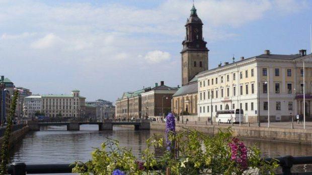 En la ciudad de Gotemburgo, Suecia, también se comerciaba con té.