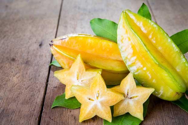 fruta estrella