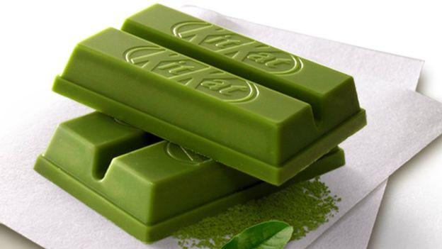 NESTLÉ. En Asia son populares los sabores de Kit Kat exóticos como el wasabi y el té verde.