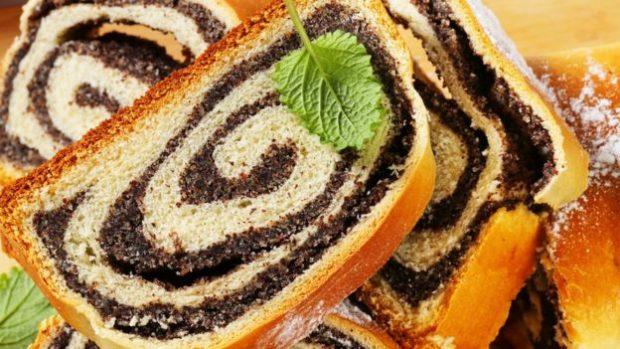Las semillas de amapola son frecuentes en panes, magdalenas y pasteles.