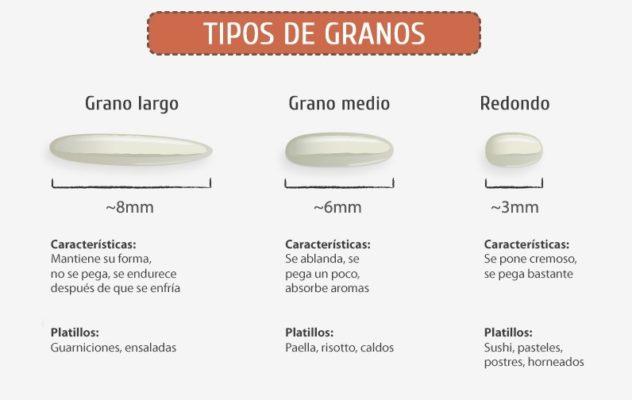 Tipos de grano