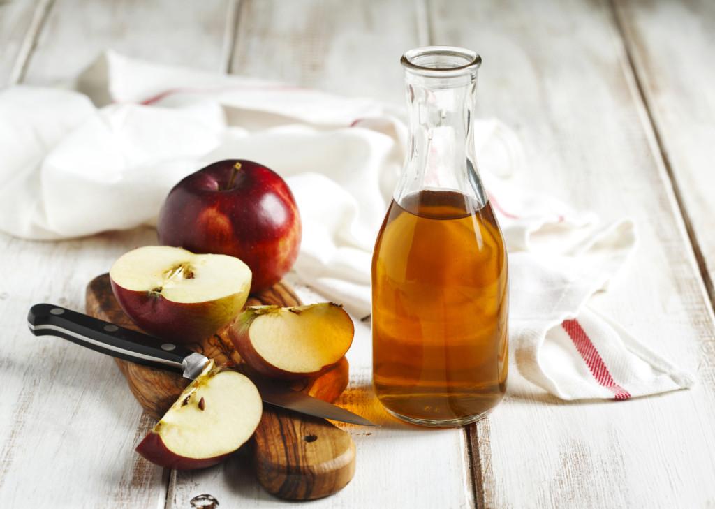 vinagre de sidra de manzana receta