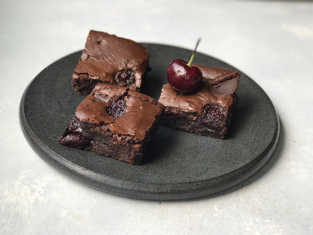 Brownies sin lácteos, sin cereales y sin azúcar refinada. ¡sí señor!