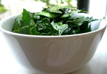 Papitas saludables de kale. Foto: Kari Sullivan.
