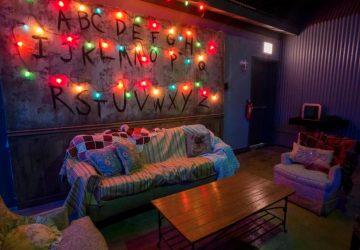 ¿Dónde está este bar homenaje a la serie Stranger Things?