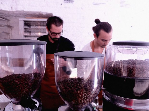 La preparación del café especial