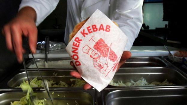 Hay más sitios de kebabs en Berlín que en Estambul.