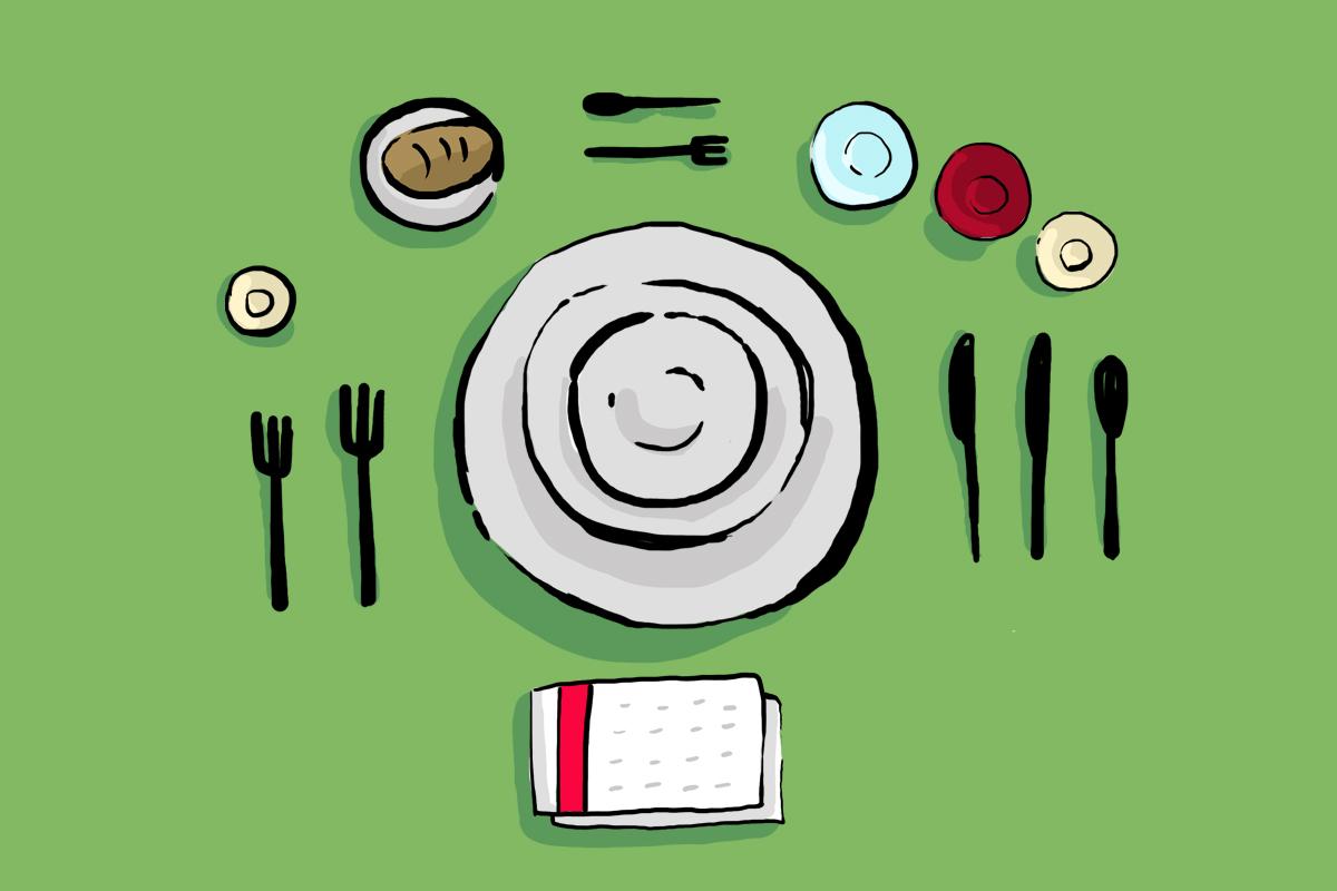 Guía básica para poner una mesa, desde los cubiertos hasta las copas