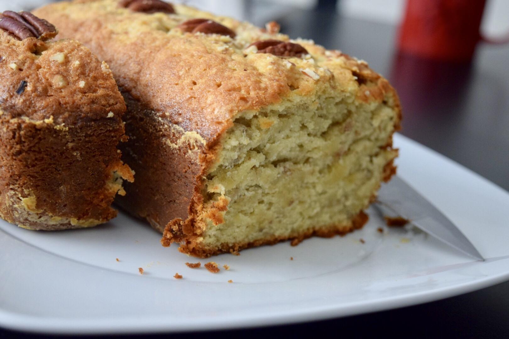receta para pan de platano