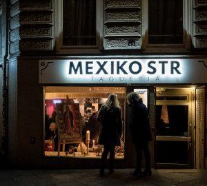 verdadero taco mexicano
