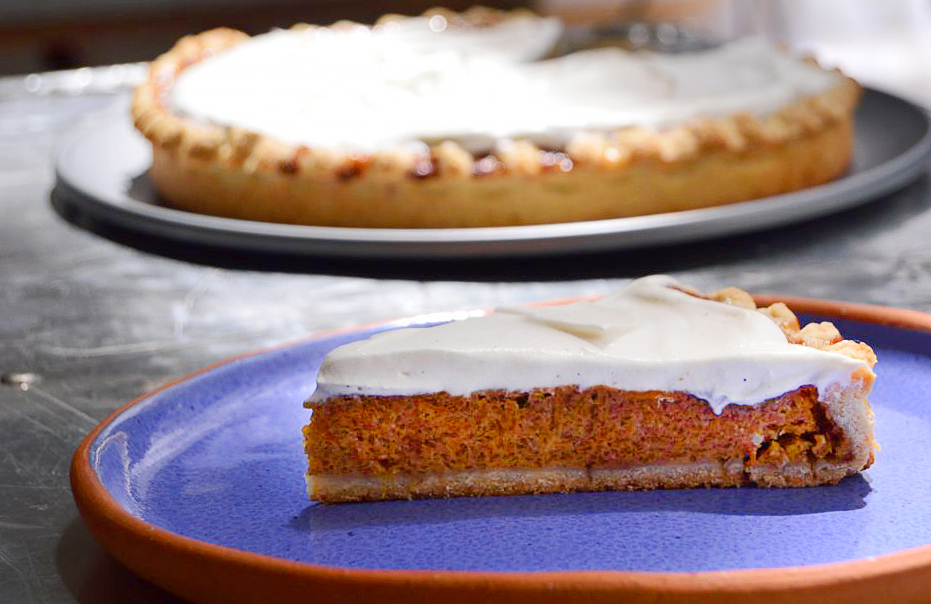 pay de calabaza pumpkin pie
