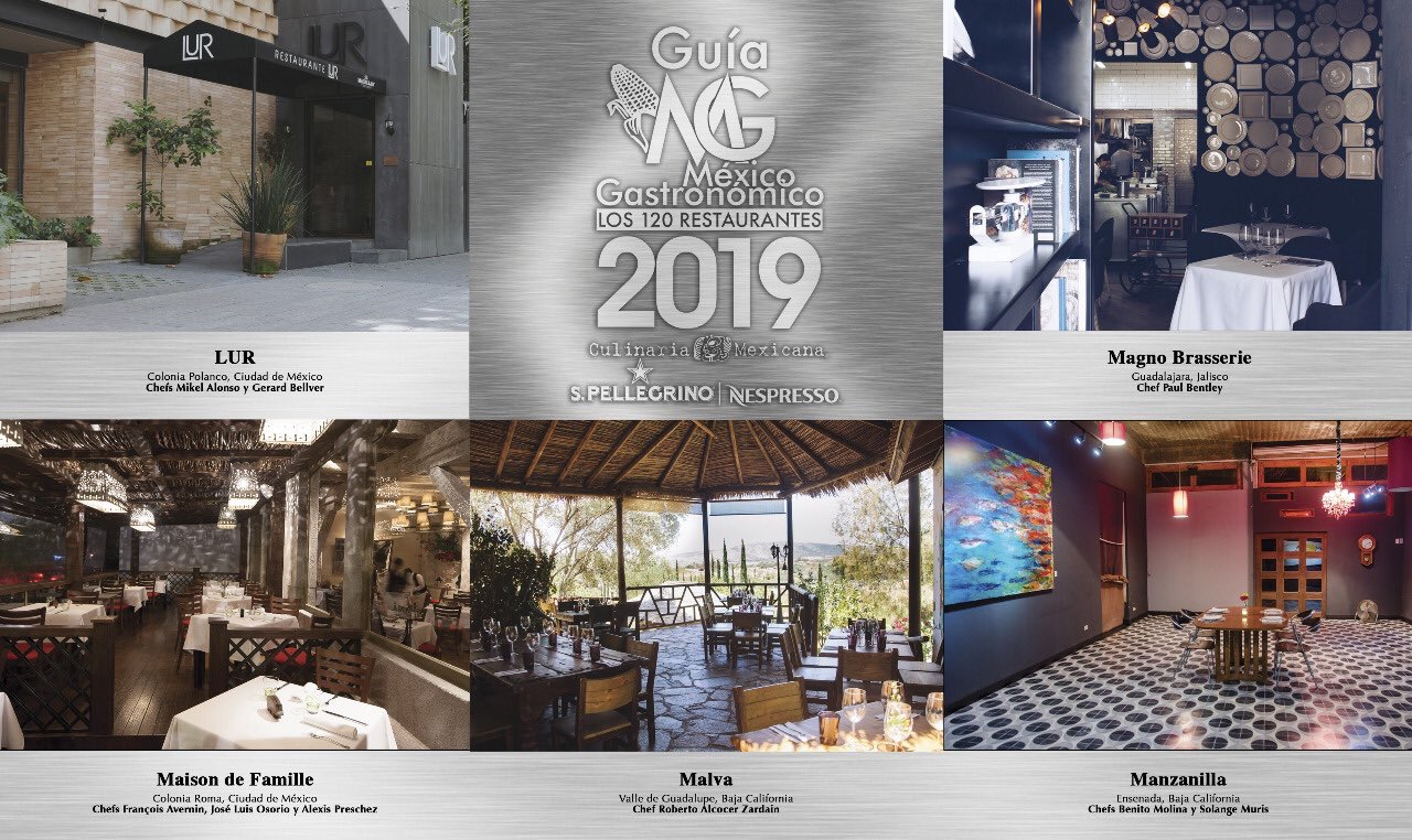 mejores restaurantes de México