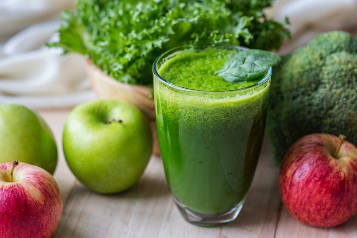 como se prepara el jugo verde y para que sirve
