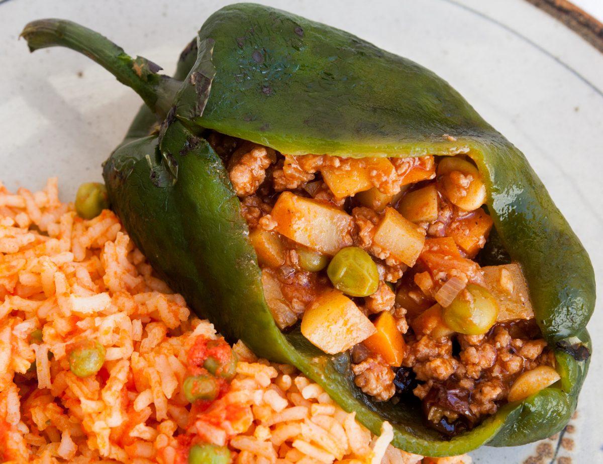 recetas chiles rellenos