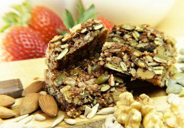recetas de snacks saludables