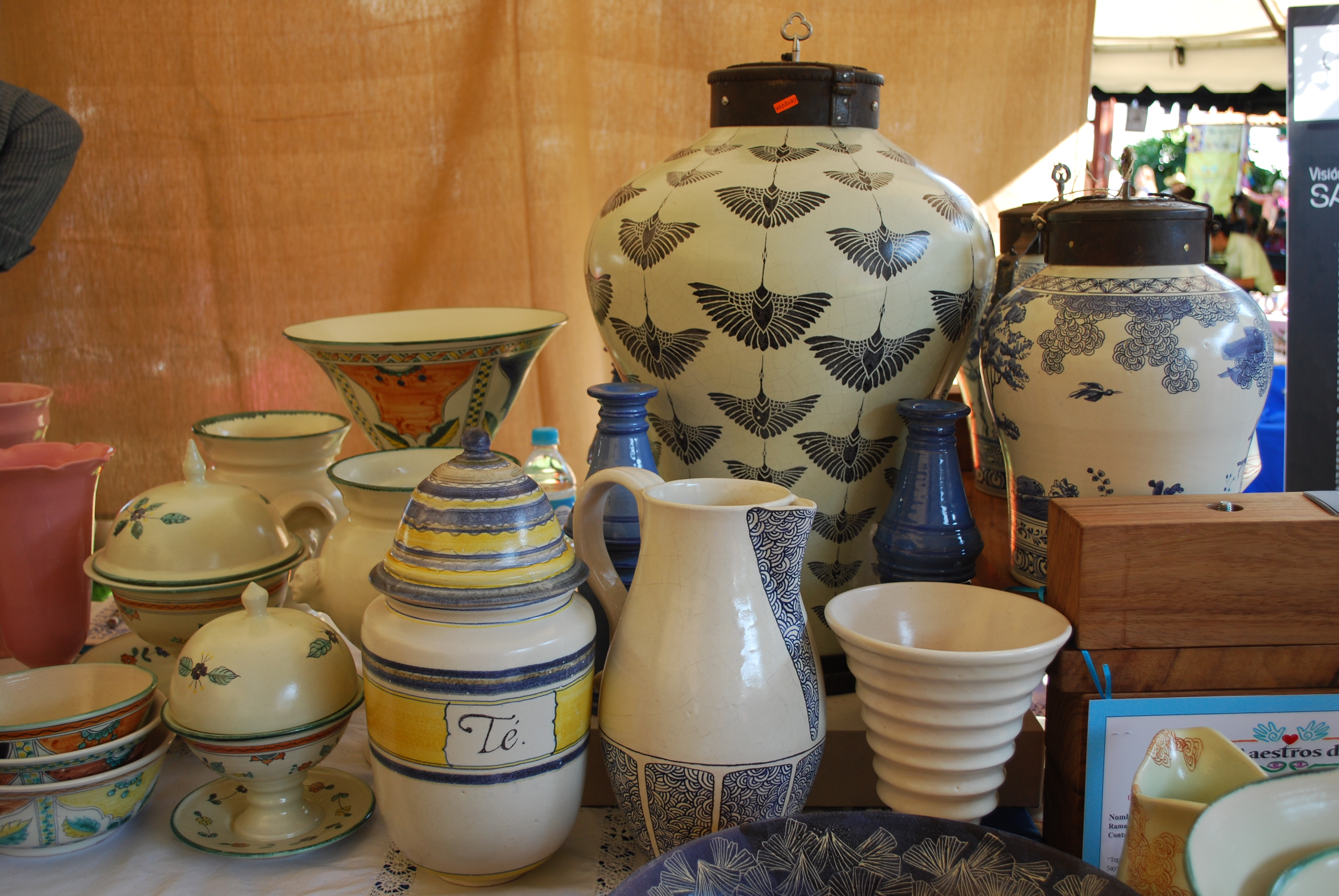 cerámica mayólica