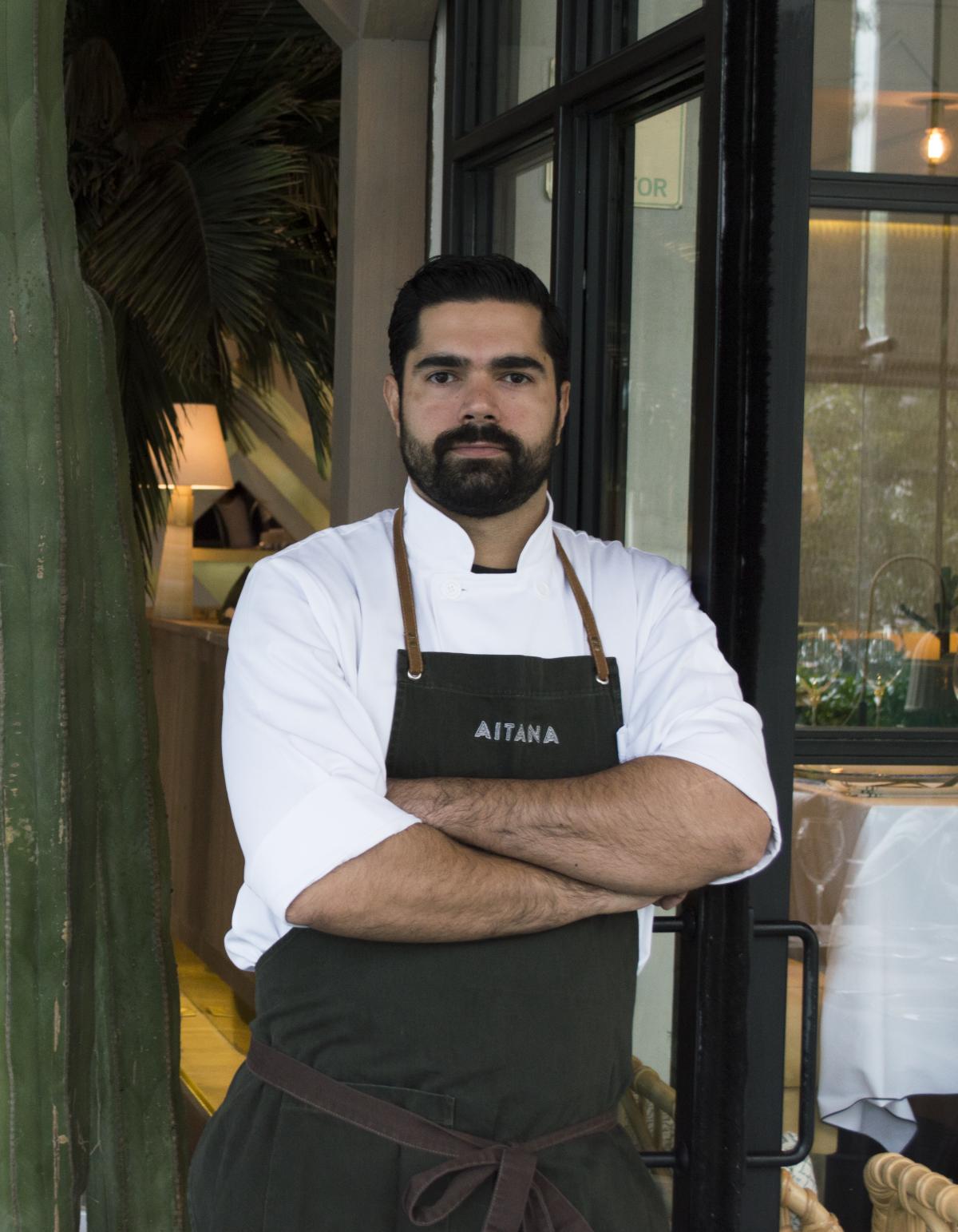 Experiencias gastronómicas restaurante Aitana Chef Víctor Morales