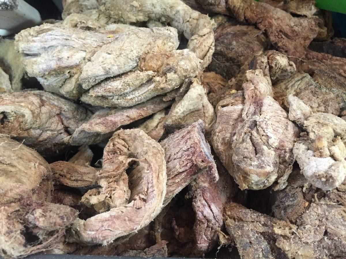 se come la carne de caballo o chito