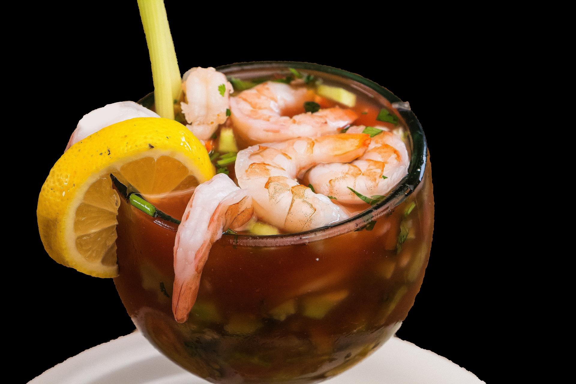 coctel vuelve a la vida, comida de Veracruz