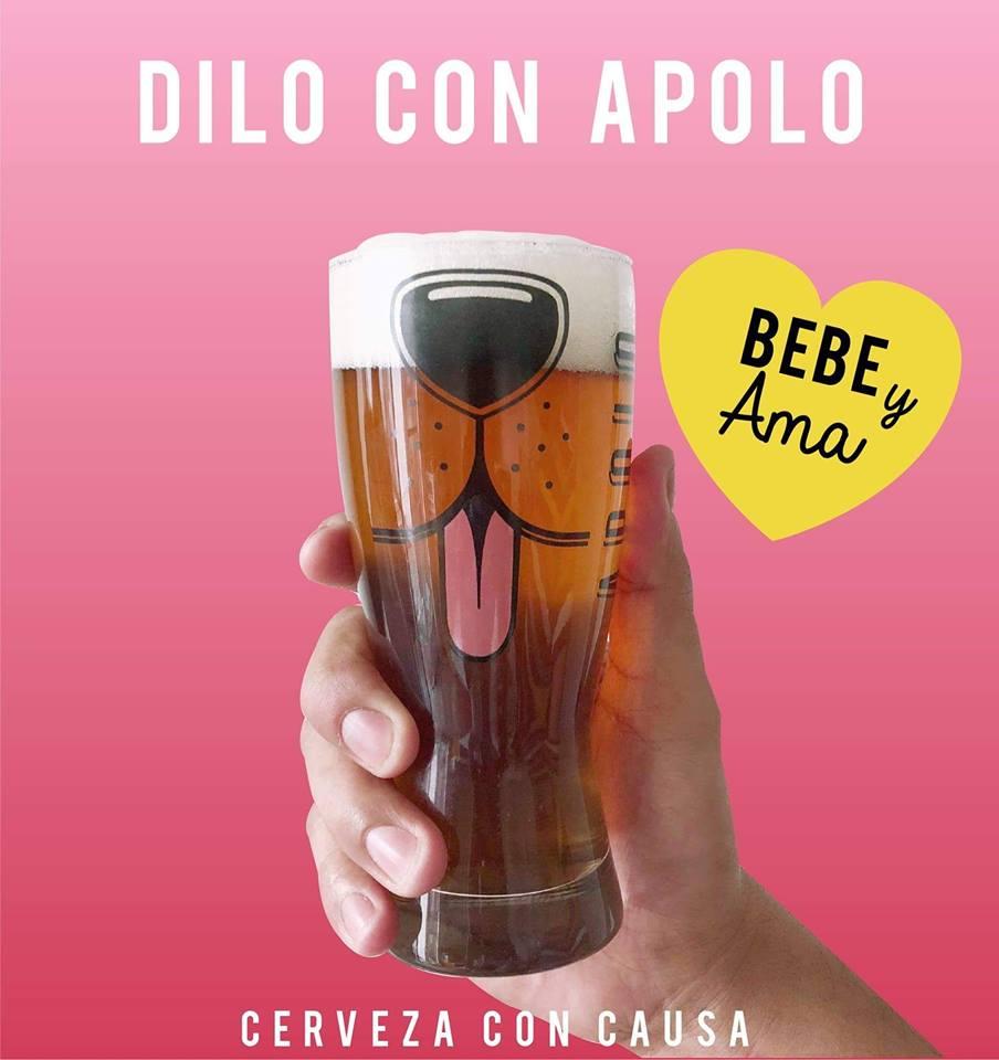 Vaso de cerveza Apolo