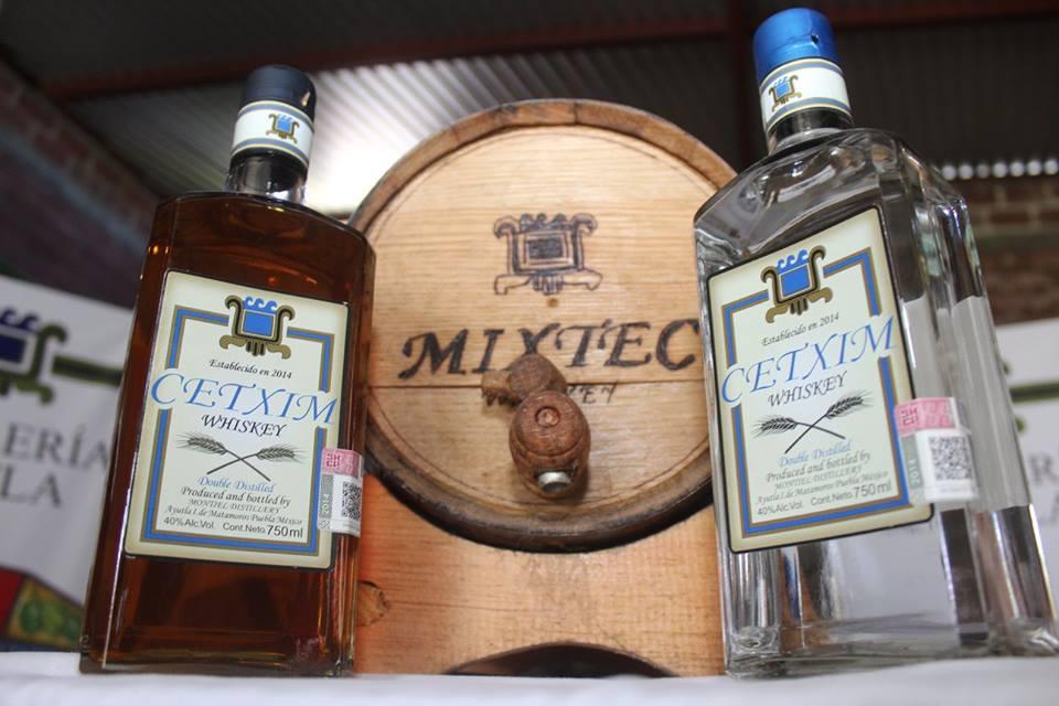 Destilados internacionales hechos en México.