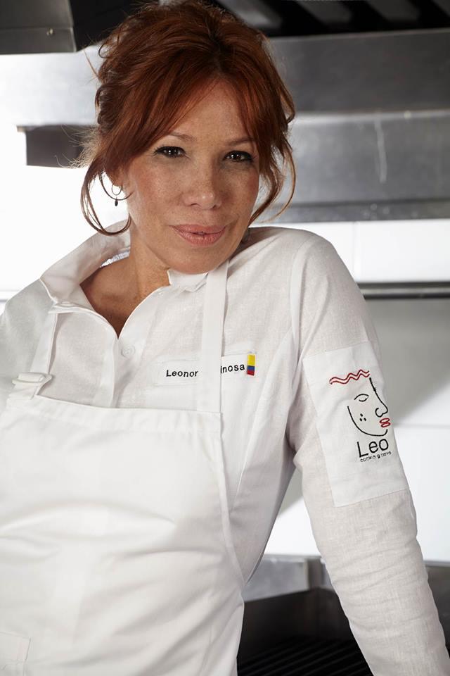 Leonor Espinosa. Nueva gastronomía colombiana con Álvaro Clavijo.